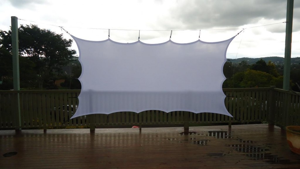 Garden Projector Screen