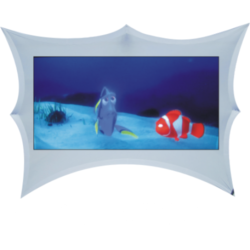 Stretch Fabric Projector Screens